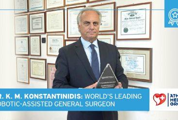 Dr. Konstantinos M. Konstantinidis: World's Leading Robotic-Assisted General Surgeon